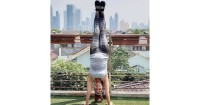 3. Latihan keseimbangan
