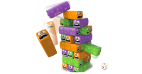2. Kiddy Fun Wobbly Worms Tower Balancing Game