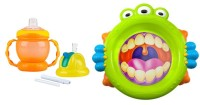 1. Siapkan alat makan BPA free