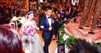 4. Menggelar acara Resepsi Mulia Resort, Bali