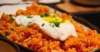 1. Nasi goreng beras merah