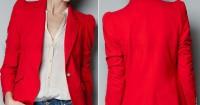 5. Draped blazer