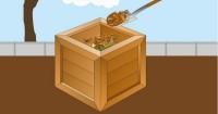 3. Campur bahan organik baru lama