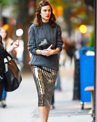 3. Sweater and sequin