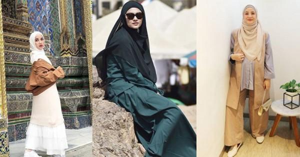 Simpel Lebih Tertutup Ini 7 Prediksi Gaya Hijab 2019 Ala Seleb Popmama Com