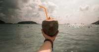 2. Air kelapa