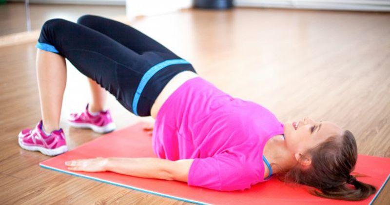 2. Pelvic Tilt mengurangi lemak perut