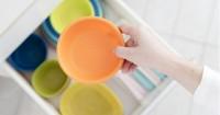 4. Simpan keju wadah bersih