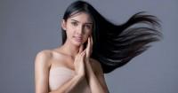 5. Semprotkan hair serum teratur