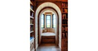 6. Private hideout library