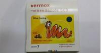 3. Obat cacing Vermox (Mebendazol)
