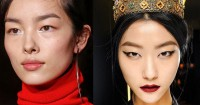 5 Inspirasi Makeup Dramatis Rayakan Imlek Tahun Babi Tanah
