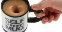 6. Self stirring mug