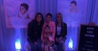 7. Caitlyn Jenner juga turut hadir dalam momen ulang tahun cucunya