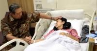 Keluarga Dampingi Ani Yudhoyono Saat Sakit, Almira Beri Kartu Ucapan