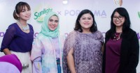 Popmama Arisan Cegah Kanker Keluarga Bersama Sunlight