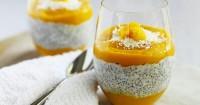 1. Mango chia pudding