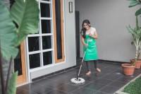 5. Jangan lupa lantai harus tetap wangi