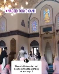2. Beredar video suasana Masjid Tokyo Camii