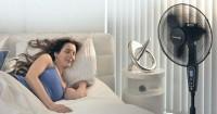 5 Dampak Buruk Menggunakan Kipas Angin Saat Tidur