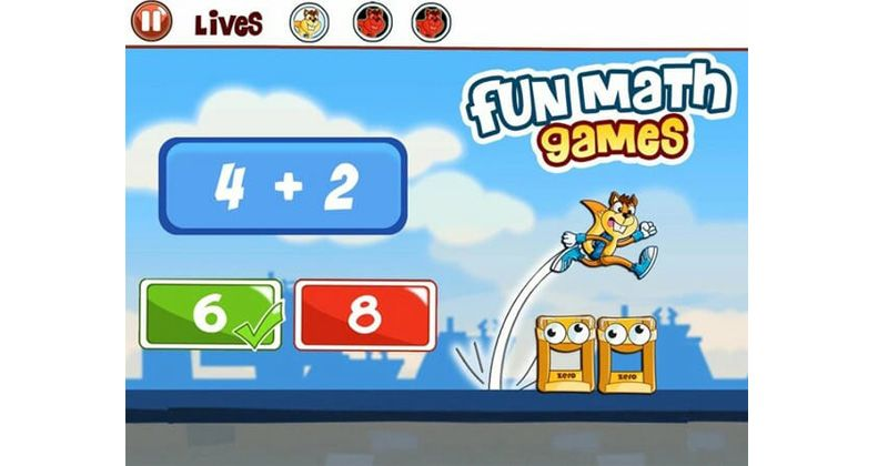 4. Basic Math Games for Kids Addition Subtraction