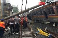 Beberapa Perjalanan KRL Dibatalkan Evakuasi