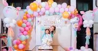 Pesta Bertema Unicorn, Ini Keseruan Ulang Tahun Anak Pertama Ayu Dewi