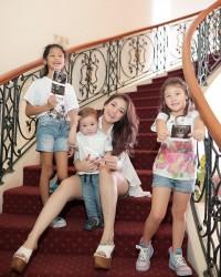 3. Kehamilan keempat Celine menjadi anak kedua bagi Stefan