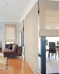 2. Roman blinds