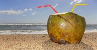3. Air kelapa mengatasi dehidrasi saat sakit perut