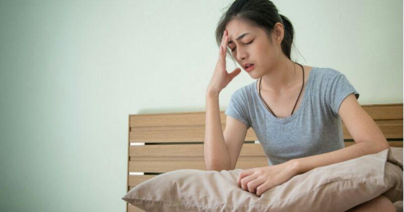 6. Sakit kepala gangguan hidung