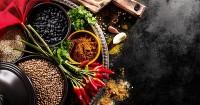 3. Makanan pedas bersantan