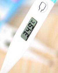 2. Gunakan termometer tepat