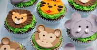 1. Kue ulang tahun bergambar hewan
