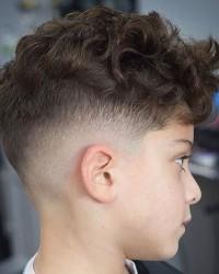 2. Long hair on top