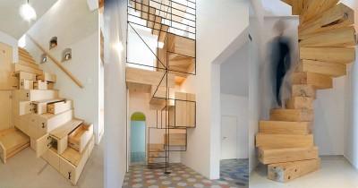 Kreatif & Fungsional! Inilah 7 Inspirasi Tangga untuk Rumah Minimalis