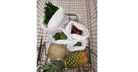9. Tak ada lagi plastik buah, Agni gunakan sarung pembungkus dari kain belanja