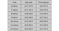 2. Rumus menghitung indeks massa tubuh (IMS)