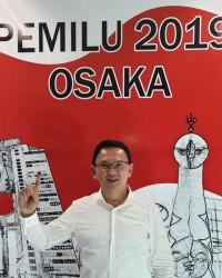6. Basuki T Purnama nyoblos Jepang