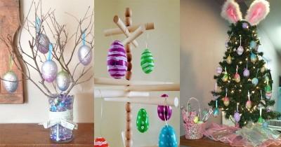 7 Inspirasi Pohon Telur untuk Hiasan di Rumah pada Hari Paskah 2019