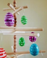 2. Susunan kayu simple