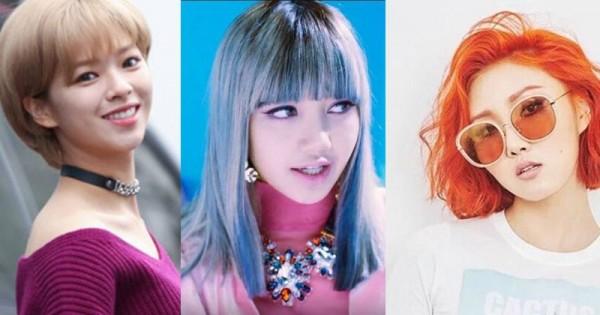 Model Rambut Pendek Artis Korea