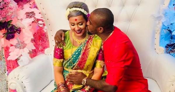 Kimmy Jayanti Dan Suami Rayakan 7 Bulanan Dengan Tradisi India Popmama Com