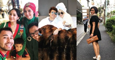 5 Artis Ini Memilih Libur Lebaran ke Luar Negeri Bersama Keluarga