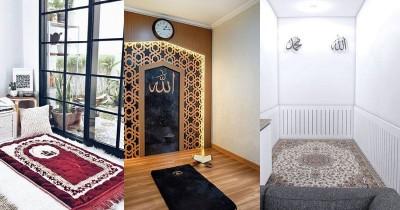 Unik! Contek 7 Inspirasi Desain Musala di Dalam Rumah