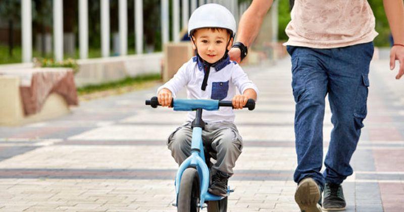 cara mengajari anak bersepeda
