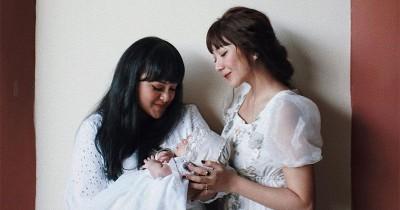 Karena Percaya, Claradevi Pilih Lizzie Parra Jadi Wali Baptis Bayinya
