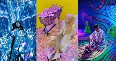 10 Instalasi Kece Bertema 'Mimpi' di Lucid Dream, Surabaya