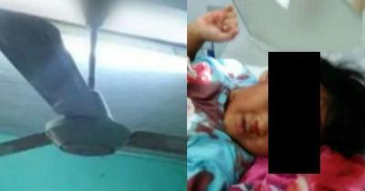 Bermain Lempar Tangkap, Bocah 2 Tahun Tewas Terkena Baling Kipas Angin