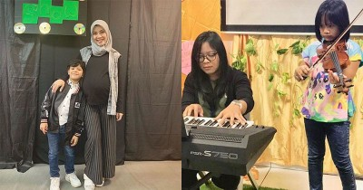 Ratna Galih Hingga Choky Sitohang Hadir & Temani Anak di Acara Sekolah